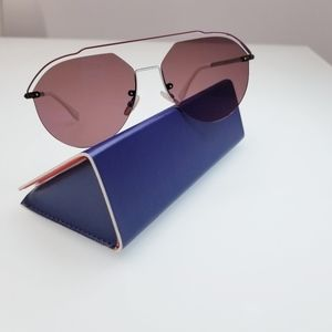 NWT Fendi M0031S-KJ113 Dark Ruthenium SUNGLASSES